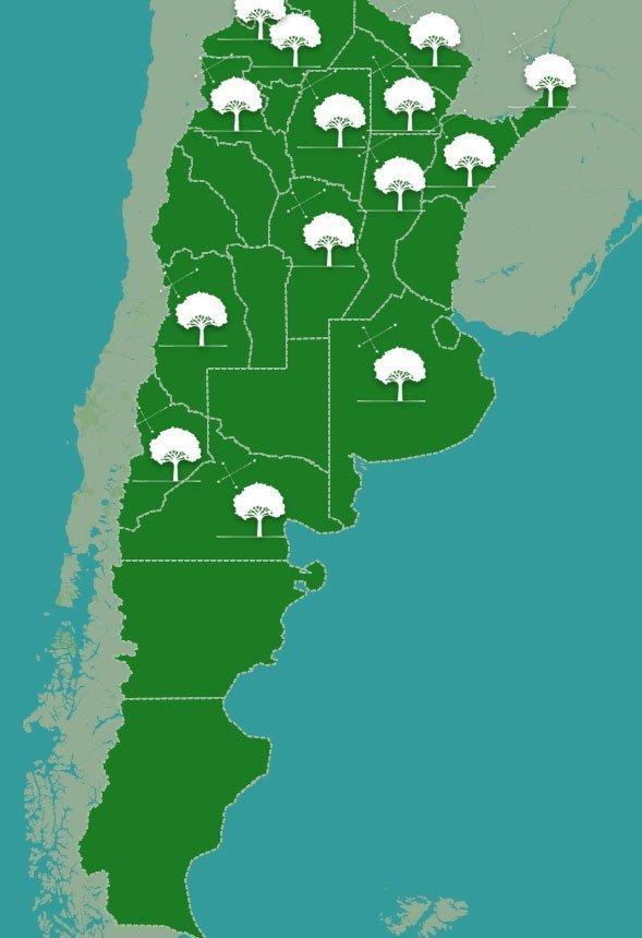 mapa Fundación Escolares